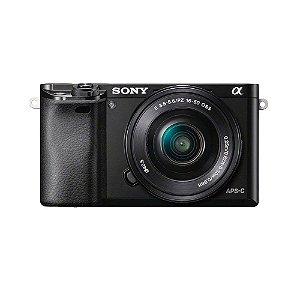 Câmera Sony A6000 (ILCE-6000) 16-50MM F/3.5-5.6 OSS - Preto