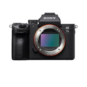 Câmera Sony A7 III (ILCE-7M3) - corpo Preto