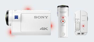 FILMADORA SONY ACTION CAM FDR X3000 4K