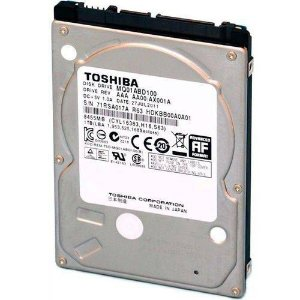 HD Notebook Toshiba 500GB 2.5""