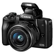 "Câmera Digital Canon EOS M50 24.1MP 3.0"" Lente EF-M15-45MM IS STM"