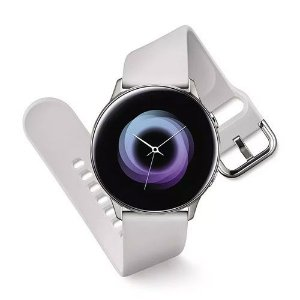Relogio Smartwatch Samsung Galaxy Watch Active SM-R500 - Prata
