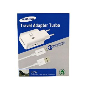 Carregador Samsung Turbo Travel Adapter