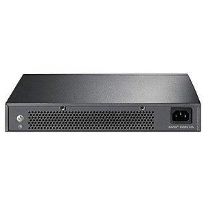Switch Gigabit 24 Portas TP-Link TL-SG1024D 100/1000 Bivolt Preto