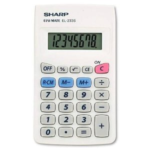 Calculadora Sharp EL-233SB