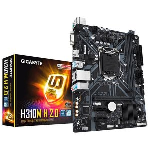 Placa Mãe Gigabyte H310M H 2.0 Intel Soquete LGA 1151