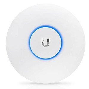 Access Point Ubiquiti AP Ac Lite Uap-Ac-Lite 300MBPS Em 2.4GHZ + 867MBPS Em 5GHZ - Branco