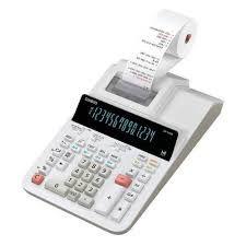 Calculadora Impressora Casio DR-140R-We-e-DC 110V - Branco