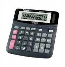 Calculadora Truly 821B-12 Digitos