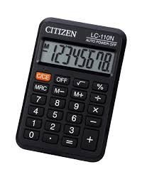 Calculadora Citizen LC-110N