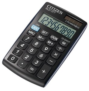 Calculadora Citizen SLD-377
