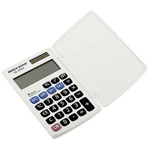 Calculadora Megastar HL-830V 8 Digitos - Branca