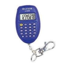 Calculadora Luxor LX-859 - 8 Digitos - Chaveiro