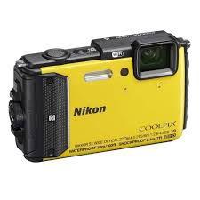 "Câmera Digital Nikon AW-130 16.0MP 3.0"""