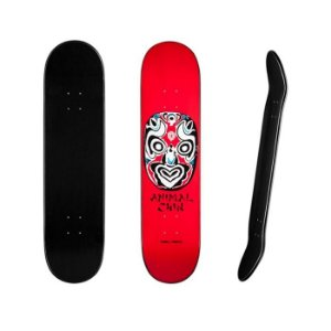 Shape Powell Peralta Chin Mask Red 8.25
