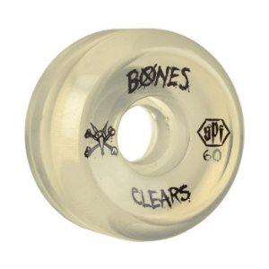 Roda Bones SPF Clear 60mm 84B Natural