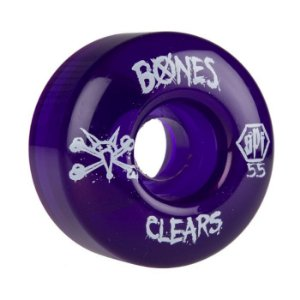 Roda Bones SPF Clear 55mm 84B Roxa