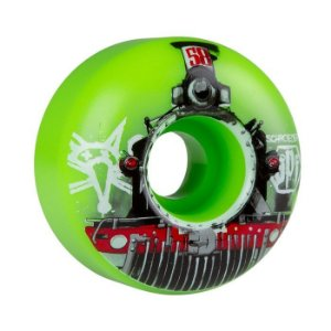 Roda Bones Spf Schroeder Train 58mm 84b Verde