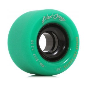 Roda Blood Orange Morgan Pro Series 65mm 80A Turquesa