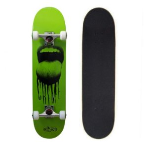 Skate Completo Importado Crème Mouth Green 8.0 - Shape Maple