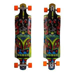 "Longboard Completo Simetrico San Clemente Demon Colorful 10"" x 40"""