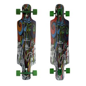 "Longboard Completo Simetrico San Clemente Mosaic 9"" x 38"""
