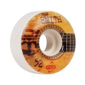 Roda Bones STF Smith Strummer 52mm 83B Branca