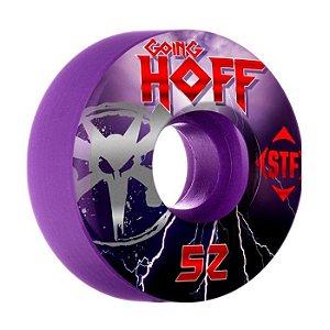 Roda Bones STF Hoffart Go Hoff 52mm 84B Roxa