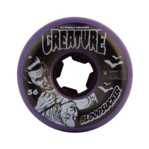 Roda Oj Creature Bloodsuckers Fives 56mm 99a Roxa
