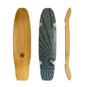 "Shape Longboard Black Sheep Tribal 40"" x 10"""