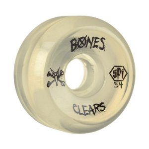 Roda Bones SPF Clear 54mm 84B Natural