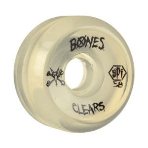 Roda Bones SPF Clear 58mm 84B Natural