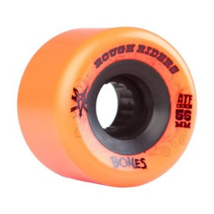 Roda Bones ATF Rough Riders 56mm 60B Laranja