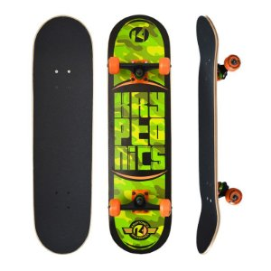 Skate Completo Kryptonics Pro Camo Maple 8.0