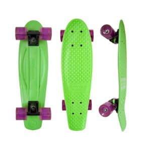 Mini Cruiser Kryptonics Torpedo Green 22.5""