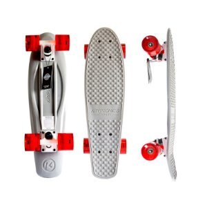 Mini Cruiser Kryptonics Torpedo Grey 22.5""