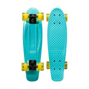 Mini Cruiser Kryptonics Torpedo Sky Blue 22.5""