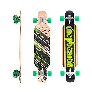 "Longboard Completo Simétrico DropBoards Ecco 10"" x 39"""