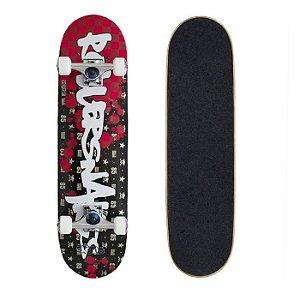Skate Completo Importado Crème Rollersnake 8.0 - Shape Maple