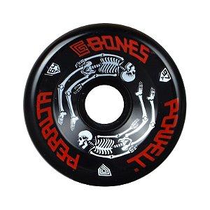 Roda Powell Peralta G-Bones 64mm 97A Preta