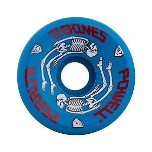 Roda Powell Peralta G-Bones 64mm 97A Azul