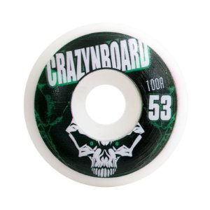 Roda CrazynBoard PPS 53mm 100A