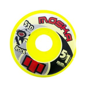 Roda Moska 51mm Yellow Rock