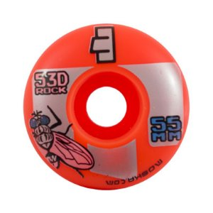 Roda Moska Orange Rock 55mm 53D