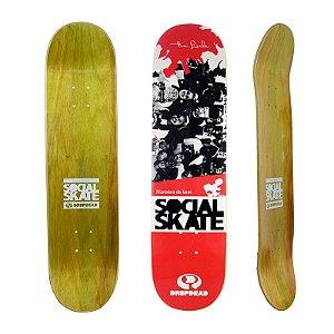 Shape Drop Dead Projeto Social Skate Tia Leila 8.0