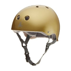 Capacete Triple 8 Brainsaver Gold Metallic
