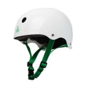 Capacete Triple 8 Brainsaver Water Sports White Gloss