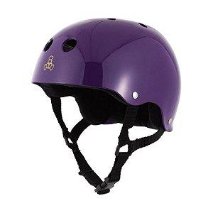 Capacete Triple 8 Brainsaver Purple Gloss