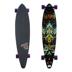 "Longboard Pintail Sector 9 Cosmos 9.0"" x 40"""
