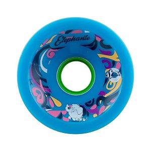 Roda Face Skate Fast Elephante P Core 72mm 79a Azul